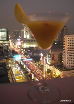 Mango cocktail (Zense Centralworld)