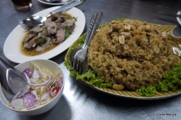 Catfish and Spicy Pork - Yum Rod Sab
