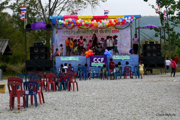 Children's Day Stage
