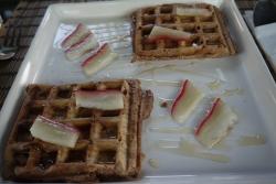 Chocolate Waffles (Treehouse Hotel)