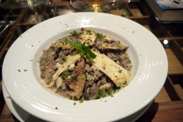 Mushroom Risotto (Brown Eyes)