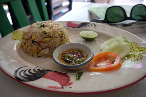 Fried Rice at Peppermint Cafe