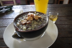 Rice Porridge at Birds Nest Cafe
