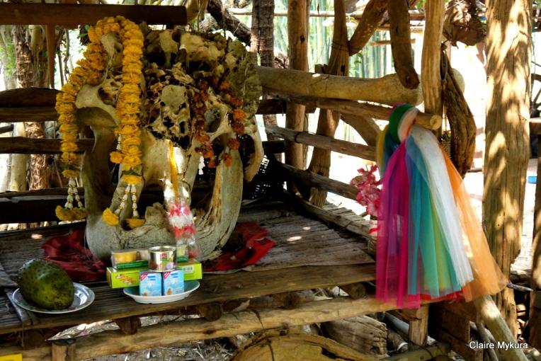 Hill Tribe Shrine