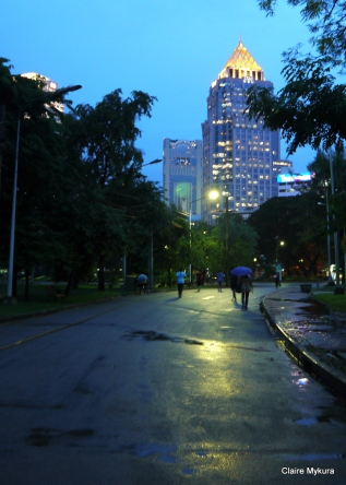 Lumpini Park Rain
