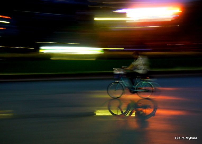 Bangkok Bike Rain